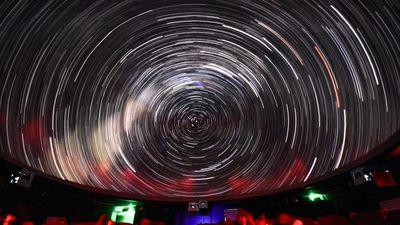 Ngắm nguyệt thực một phần ở Đài thiên văn lớn nhất miền Bắc