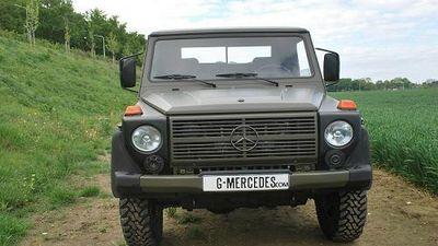 Bán tải quân sự Mercedes-Benz G-Class 'siêu hiếm' 1,44 tỷ đồng