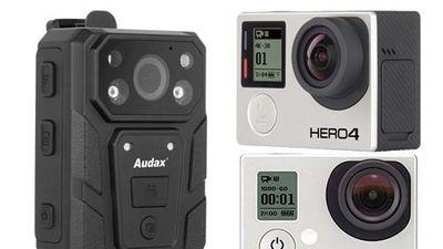 So sánh camera gắn ngực của CSGT Việt Nam với Gopro Hero 3, 4