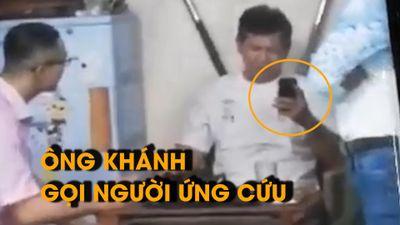 Xuất hiện video mới trong vụ võ sư Khánh bị đánh: Ông Kiệt chỉ muốn nói chuyện?