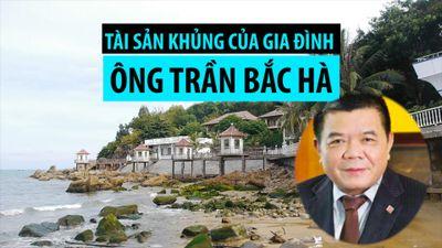 Tài sản khủng của gia đình ông Trần Bắc Hà ở Bình Định