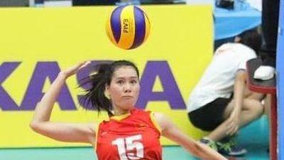 Tuyển nữ Việt Nam thua Trung Quốc ở giải bóng chuyền U23 châu Á