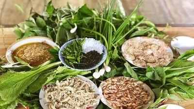 Khó cưỡng với món gỏi lá Kom Tum, đặc sản trứ danh đất Tây Nguyên