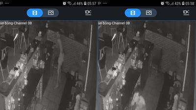 Tên trộm kì quặc, chỉ mặc quần sịp đột nhập quán cà phê lúc nửa đêm