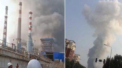 Hiện trường khủng khiếp vụ nổ nhà máy máy khí đốt làm 10 người thiệt mạng ở Trung Quốc