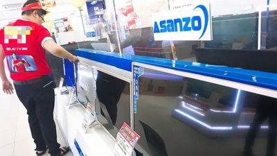 Tranh cãi quanh chiếc tivi Asanzo 'Made in Vietnam'