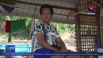 Mực nước sông Mekong tại Thái Lan thấp kỉ lục