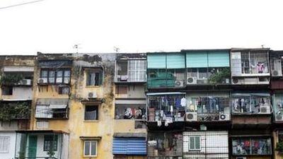 Hàng trăm chung cư cũ ở Hà Nội đang nằm chờ cải tạo
