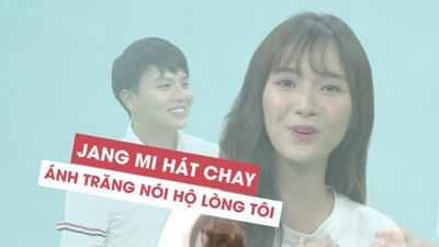 Jang Mi hát chay Ánh trăng nói hộ lòng tôi khiến Duy Khánh tan chảy