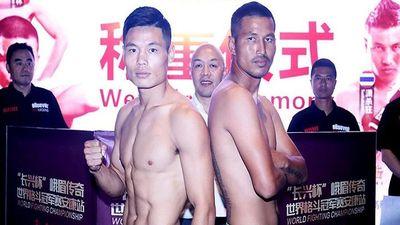 Cao thủ Thái cực Hàn Phi Long thắng điểm võ sĩ Muay Thái