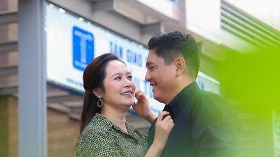 Thanh Thúy hài hước gợi ý chồng tặng hột xoàn trong ngày sinh nhật