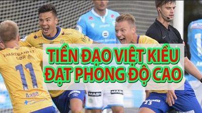 Tiền đạo Việt kiều vừa lập cú đúp, HLV Park đã biết thông tin này