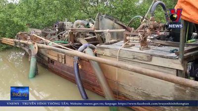 Tăng cường đấu tranh với nạn khai thác cát trái phép trên sông Đồng Nai