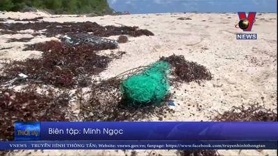 Phát hiện mật độ cao hạt vi nhựa trên biển