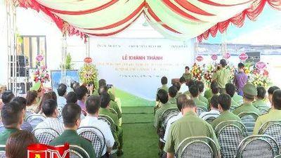Khánh thành trụ sở làm việc Công an thị trấn Mường Khương