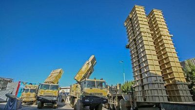 Iran trình làng tên lửa phòng không S-300 tự sản xuất