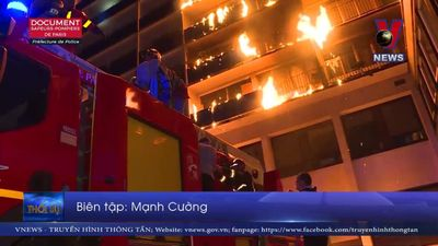 Cháy tại bệnh viện ở Paris, ít nhất 9 người thương vong