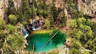 'Hồ treo' - hiện tượng thiên nhiên chỉ có tại 2 nơi trên thế giới