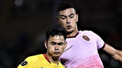 Cầu thủ CLB Sài Gòn sút xa ghi bàn, đẩy Thanh Hóa xuống nhóm cuối BXH
