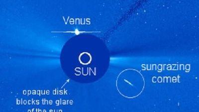 Khám phá ngôi sao lạ bị phá hủy rơi về phía Mặt trời
