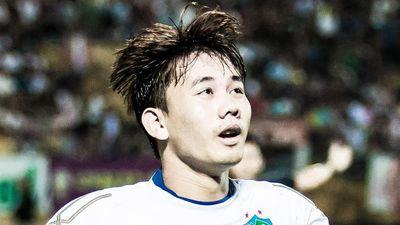 Xuân Trường kiến tạo cho Minh Vương ghi bàn trước đội Đà Nẵng