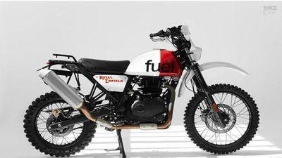 'Xế nổ' Royal Enfield Himalayan giá rẻ độ phong cách Dakar