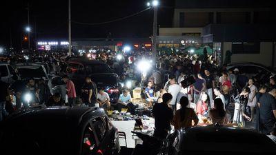 Choáng ngợp với 'chợ ma' giữa lòng Trung Quốc, chỉ mở đúng 1 lần/tuần