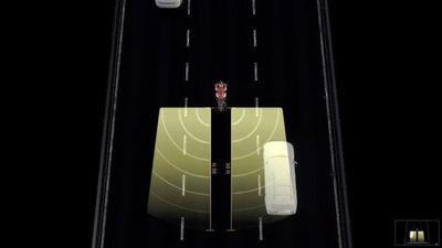 Sau xe hơi, hệ thống cảnh báo điểm mù sắp có mặt ở xe máy