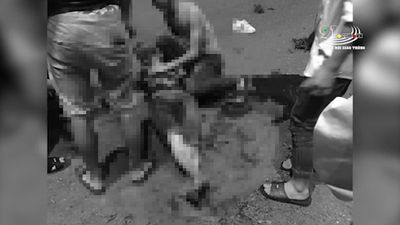Clip: Rùng rợn giây phút xe Exciter chở 5 sinh viên tông dải phân cách, 4 người chết