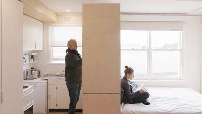 Thiết kế căn hộ 22 m2 đủ không gian riêng tư cho cả gia đình