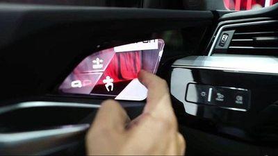 Gương chiếu hậu 'ảo' hiện đại nhất của Audi