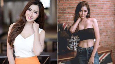 CLIP: Body chuẩn đến từng centimet của hot girl Thái Lan