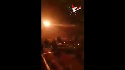Syria bắn hạ UAV, báo Israel tố bắn nhầm