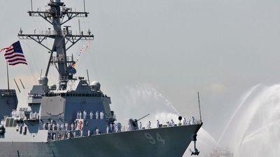 Soi 'độ khủng' chiến hạm Mỹ xuất hiện gần bờ biển Ả Rập Xê-út để dằn mặt Iran