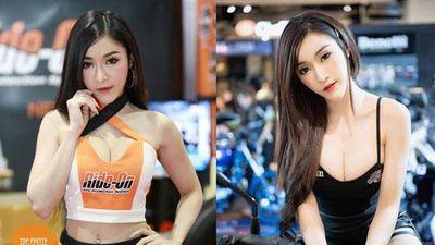 'Nghẹt thở' với body của người mẫu xe hơi 'hot' nhất nhì Thái Lan