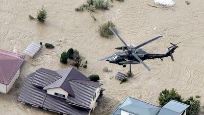 Cụ bà rơi trực thăng thiệt mạng khi được giải cứu sau bão Hagibis