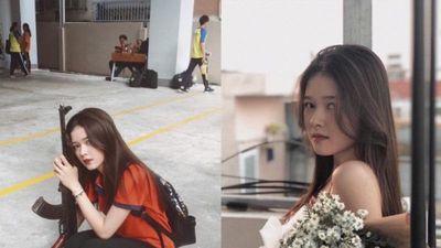 Bất chấp camera thường, nữ sinh 2K vẫn xinh lung linh khiến vạn người mê