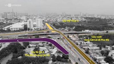 TP. Hồ Chí Minh xây thêm 3 cầu trên nút giao thông Mỹ Thủy