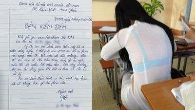 Nữ sinh lớp 10 viết bản kiểm điểm vì mặc đồ lót nổi trong áo dài: Phái đẹp nói gì?