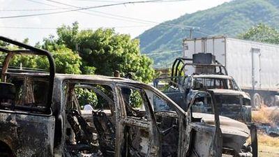 Tội phạm phục kích cảnh sát Mexico, 14 người chết