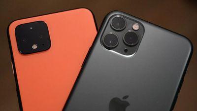 So ảnh chụp Google Pixel 4 và iPhone 11