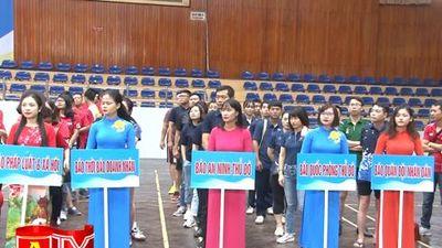 Khai mạc Hội khỏe Hội Nhà báo TP Hà Nội năm 2019