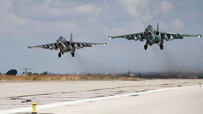 Dàn chiến đấu cơ Nga gây lo lắng vì 'hành động bất thường' trên chiến trường Syria