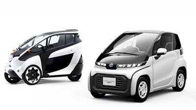 Xe Toyota BEV chạy điện mới, hai chỗ ngồi siêu tiện lợi