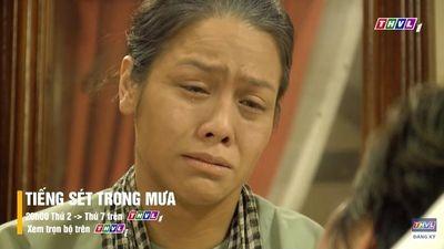 'Tiếng sét trong mưa' tập 42: Thị Bình khóc lóc cầu cứu con trai
