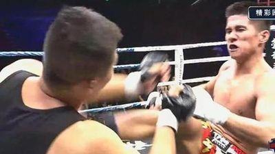 Nhà vô địch tán thủ hạ knock-out cao thủ Vịnh Xuân sau 74 giây
