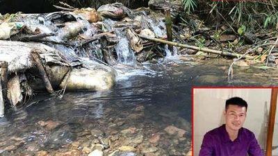 Lời khai của kẻ thuê đổ dầu thải ô nhiễm nước sạch sông Đà