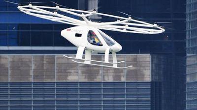 'Taxi bay' lần đầu xuất hiện trong chuyến bay thử nghiệm ở Singapore