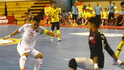 Tuyển futsal Việt Nam tiếp tục dứt điểm tệ
