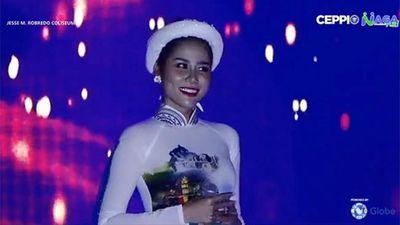 Giọng ngang phè, Hoàng Hạnh 'phá nát' Tàu anh qua núi ở Hoa hậu Trái đất